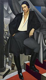 Portrait of the Duchess of La Salle | Lempicka | Painting Reproduction