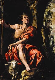 St. John the Baptist in the Wilderness | Tanzio da Varallo | Painting Reproduction