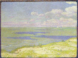 View of the River Scheldt | Rysselberghe | Painting Reproduction