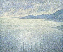 Coastal Scene | Rysselberghe | Painting Reproduction