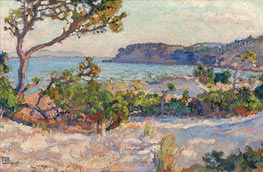 Dunes in Faviere, 1919 by Rysselberghe | Painting Reproduction
