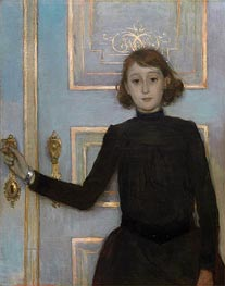 Portrait of Margueritte van Mons | Rysselberghe | Painting Reproduction