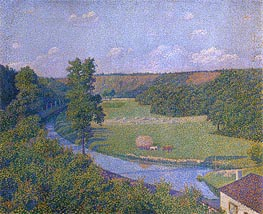 The Valley of the Sambre | Rysselberghe | Painting Reproduction