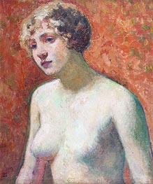 Bust of a Young Girl | Rysselberghe | Painting Reproduction