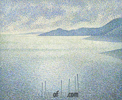 Coastal Scene, c.1892 | Rysselberghe | Painting Reproduction