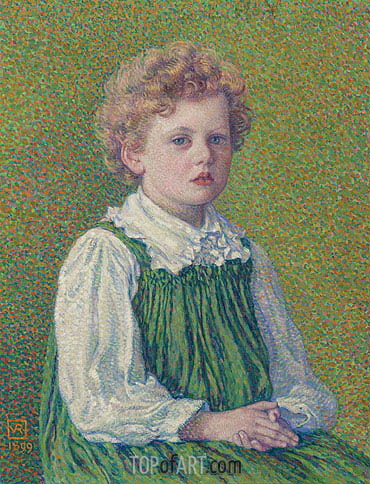 Margery, 1899 | Rysselberghe | Painting Reproduction