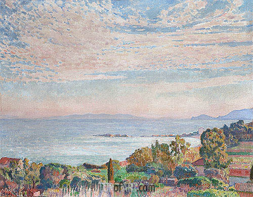Saint Clair Bay, 1923 | Rysselberghe | Painting Reproduction