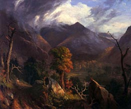 Peace at Sunset (Evening in the White Moutains) | Thomas Cole | Painting Reproduction