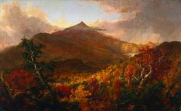 View of Schroon Mountain, Essex County, New York, After a Storm | Thomas Cole | Gemälde Reproduktion