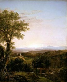 New England Scenery, 1839 by Thomas Cole | Painting Reproduction