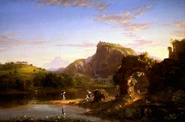 L'Allegro | Thomas Cole | Painting Reproduction