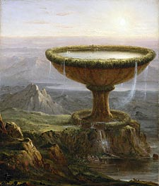 The Titan's Goblet | Thomas Cole | Painting Reproduction