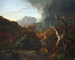 Landscape with Tree Trunks | Thomas Cole | Painting Reproduction