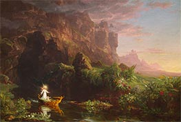 Voyage of Life - Childhood | Thomas Cole | Painting Reproduction