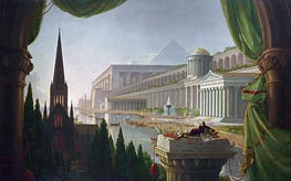 The Architect's Dream | Thomas Cole | Painting Reproduction