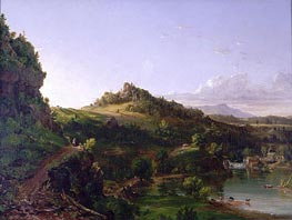 Catskill Scenery, c.1833 by Thomas Cole | Painting Reproduction