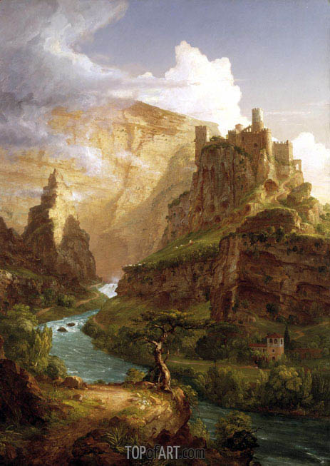 The Fountain of Vaucluse, 1841 | Thomas Cole | Painting Reproduction