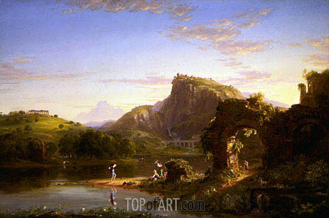 L'Allegro, 1845 | Thomas Cole | Gemälde Reproduktion