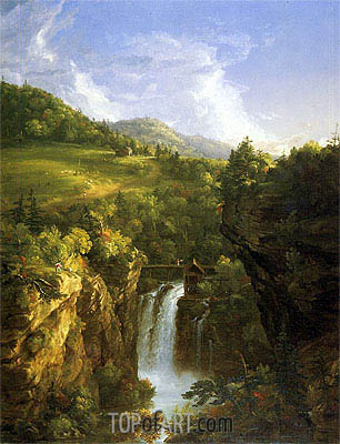 Genesee Scenery (Poop), 1847 | Thomas Cole | Painting Reproduction