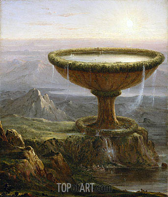 The Titan's Goblet, 1833 | Thomas Cole | Painting Reproduction