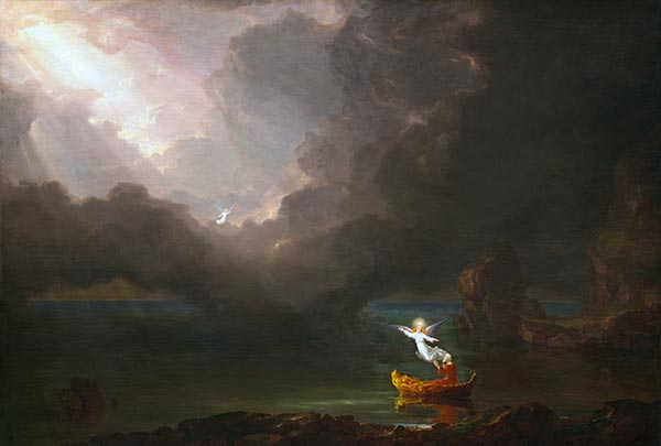 Voyage of Life - Old Age, 1842 | Thomas Cole | Painting Reproduction
