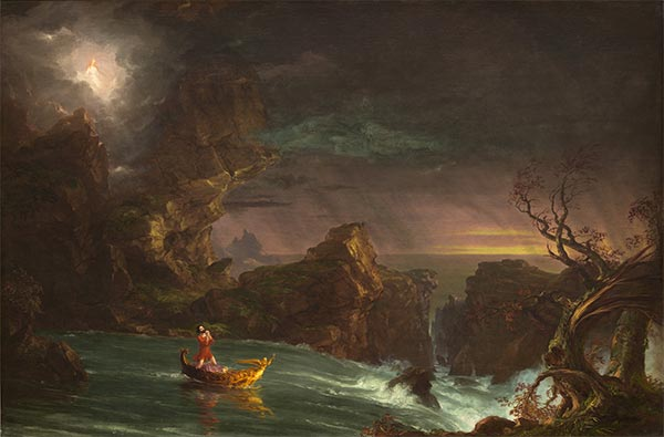 Voyage of Life - Manhood, 1842 | Thomas Cole | Painting Reproduction