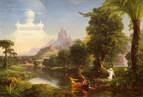 Voyage of Life - Youth, 1842 | Thomas Cole | Painting Reproduction