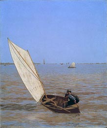 Starting Out after Rail | Thomas Eakins | Painting Reproduction