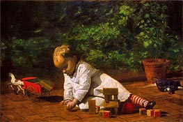 Baby at Play | Thomas Eakins | Painting Reproduction