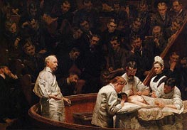 The Agnew Clinic, 1889 von Thomas Eakins | Gemälde-Reproduktion