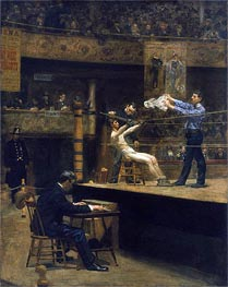 Between Rounds | Thomas Eakins | Painting Reproduction