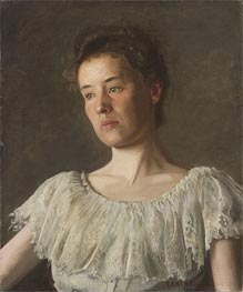 Portrait of Miss Alice Kurtz | Thomas Eakins | Painting Reproduction
