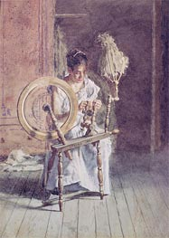 Spinning | Thomas Eakins | Painting Reproduction