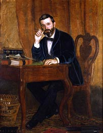 Dr. Horatio C. Wood, 1886 von Thomas Eakins | Gemälde-Reproduktion