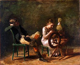The Courtship | Thomas Eakins | Gemälde Reproduktion