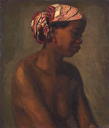 Negress | Thomas Eakins | Painting Reproduction