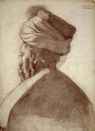Man in a Turban | Thomas Eakins | Gemälde Reproduktion