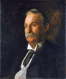 Portrait of Edward Taylor Snow, 1904 von Thomas Eakins | Gemälde-Reproduktion