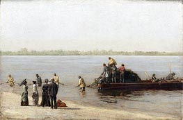 Shad Fishing at Gloucester on the Delaware River, 1881 von Thomas Eakins | Gemälde-Reproduktion