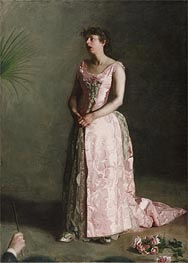 The Concert Singer, c.1890/92 by Thomas Eakins | Painting Reproduction