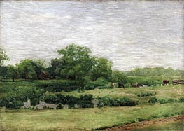 The Meadows, Gloucester, c.1882/83 by Thomas Eakins | Painting Reproduction