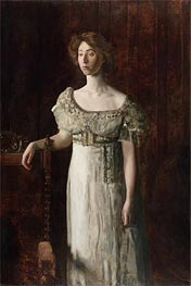 The Old-Fashioned Dress (Portrait of Helen Montanverde Parker) | Thomas Eakins | Painting Reproduction
