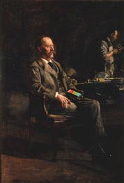 Professor Henry A. Rowland, 1897 by Thomas Eakins | Painting Reproduction