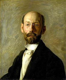 Frank B. A. Linton, 1904 by Thomas Eakins | Painting Reproduction