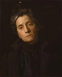 Portrait of Mrs. Thomas Eakins, c.1899 by Thomas Eakins | Painting Reproduction