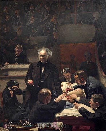 The Gross Clinic, 1875 | Thomas Eakins | Painting Reproduction
