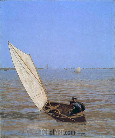 Starting Out after Rail, 1874 | Thomas Eakins | Painting Reproduction