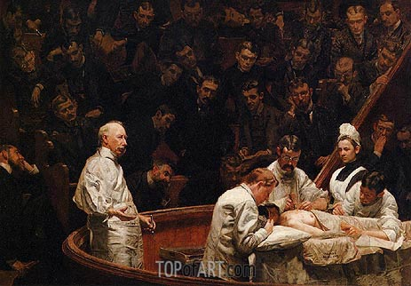 The Agnew Clinic, 1889 | Thomas Eakins | Painting Reproduction