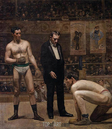 Taking the Count, 1898 | Thomas Eakins | Painting Reproduction