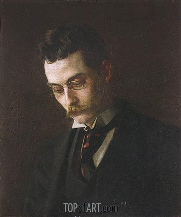 Francis J. Ziegler, c.1890 | Thomas Eakins | Painting Reproduction